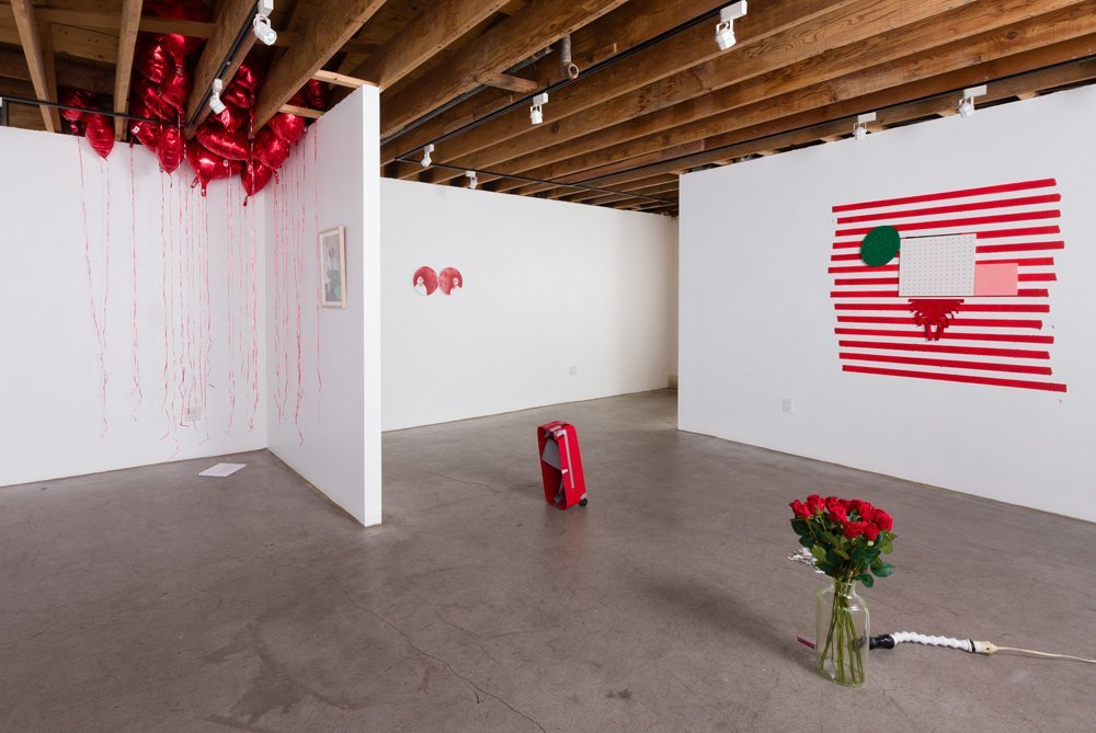 Lucie Fontaine I LOVE LUCIE, Installation view, 2013