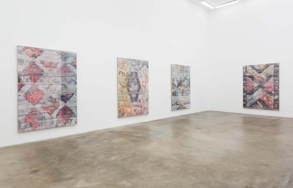 Margo Wolowiec Installation view, 2014