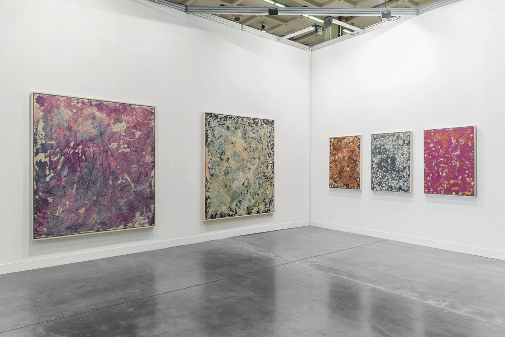 Nicholas Pilato at miart, with Anat Ebgi Installation view, 2015