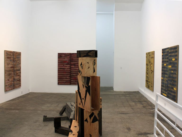 David Hendren In the Shade, Installation view, 2012