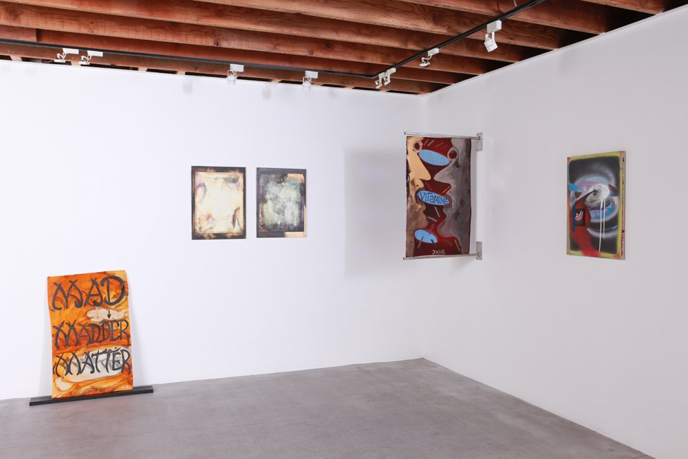 WASSUP PAINTERS Installation view, 2013