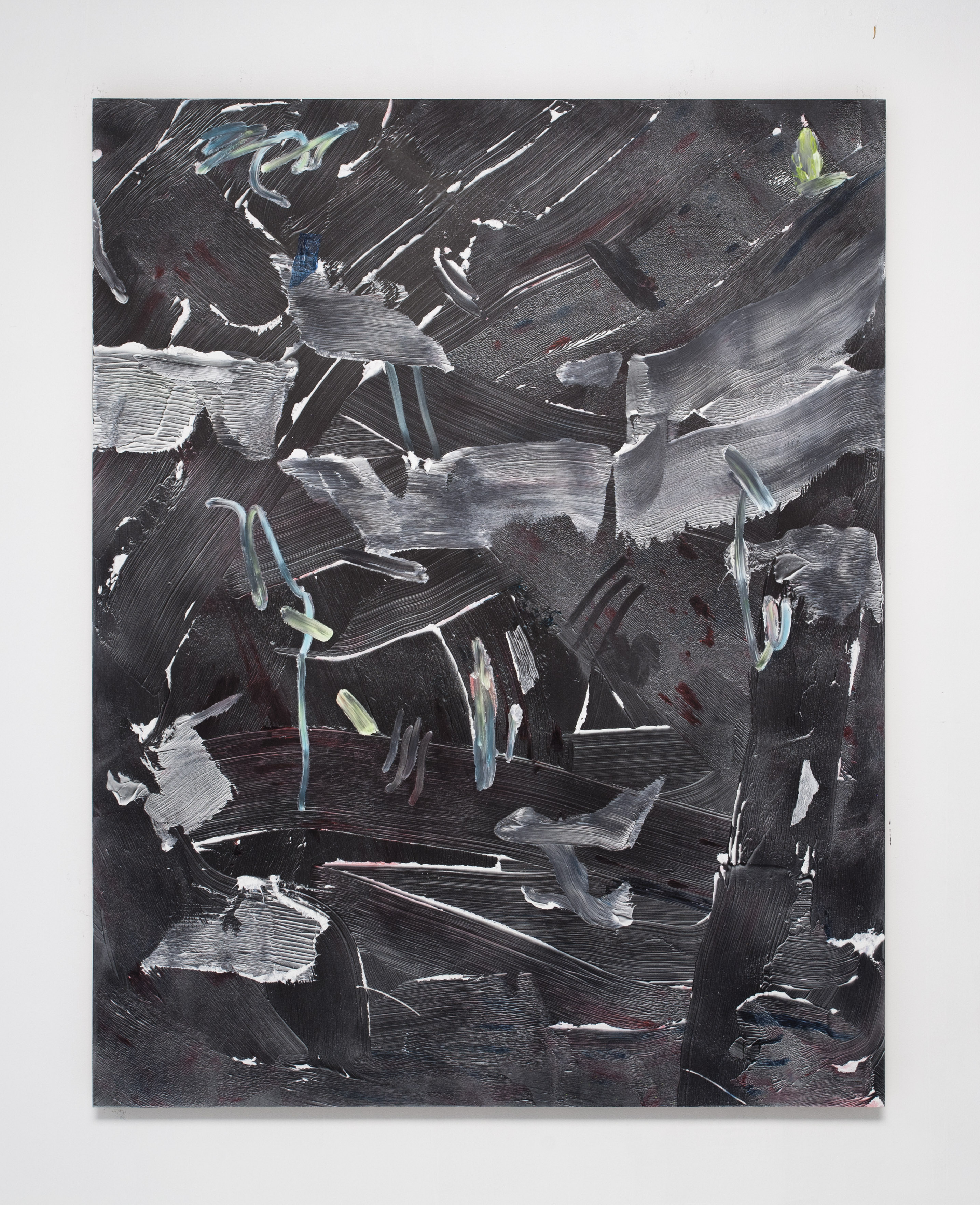 Joe Reihsen, _IMG_0270_, 2013, Acrylic on panel, aluminum frame, 60 x 47 inches