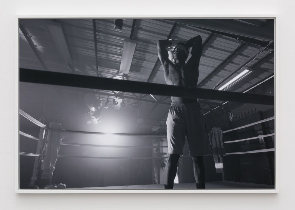 Jen DeNike The Boxer, 2015 Chromogenic Photograph 41 x 28 inches Edition of 3 with 1AP