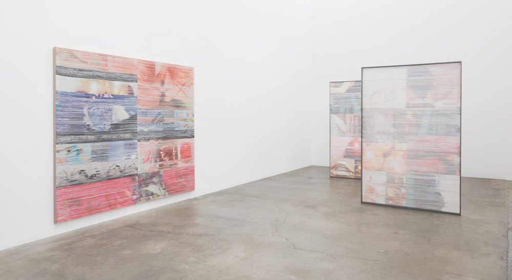Margo Wolowiec Double Blind, Installation view, 2016