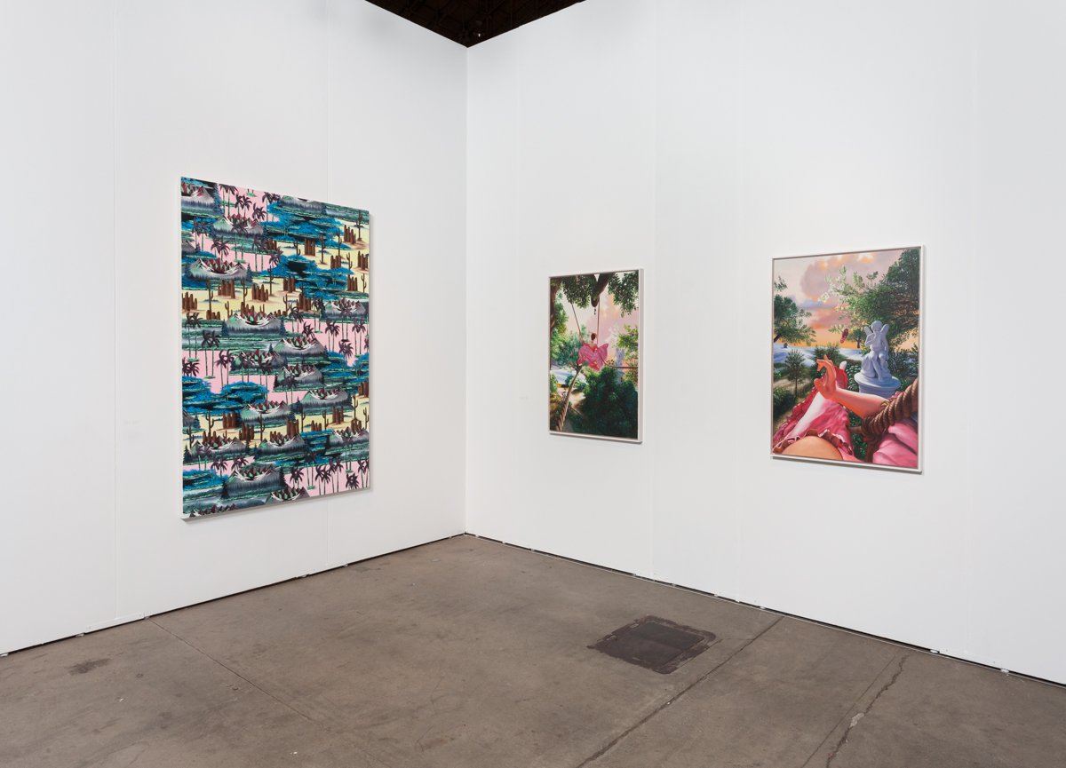 EXPO Chicago, Installation view of Anat Ebgi, 2016