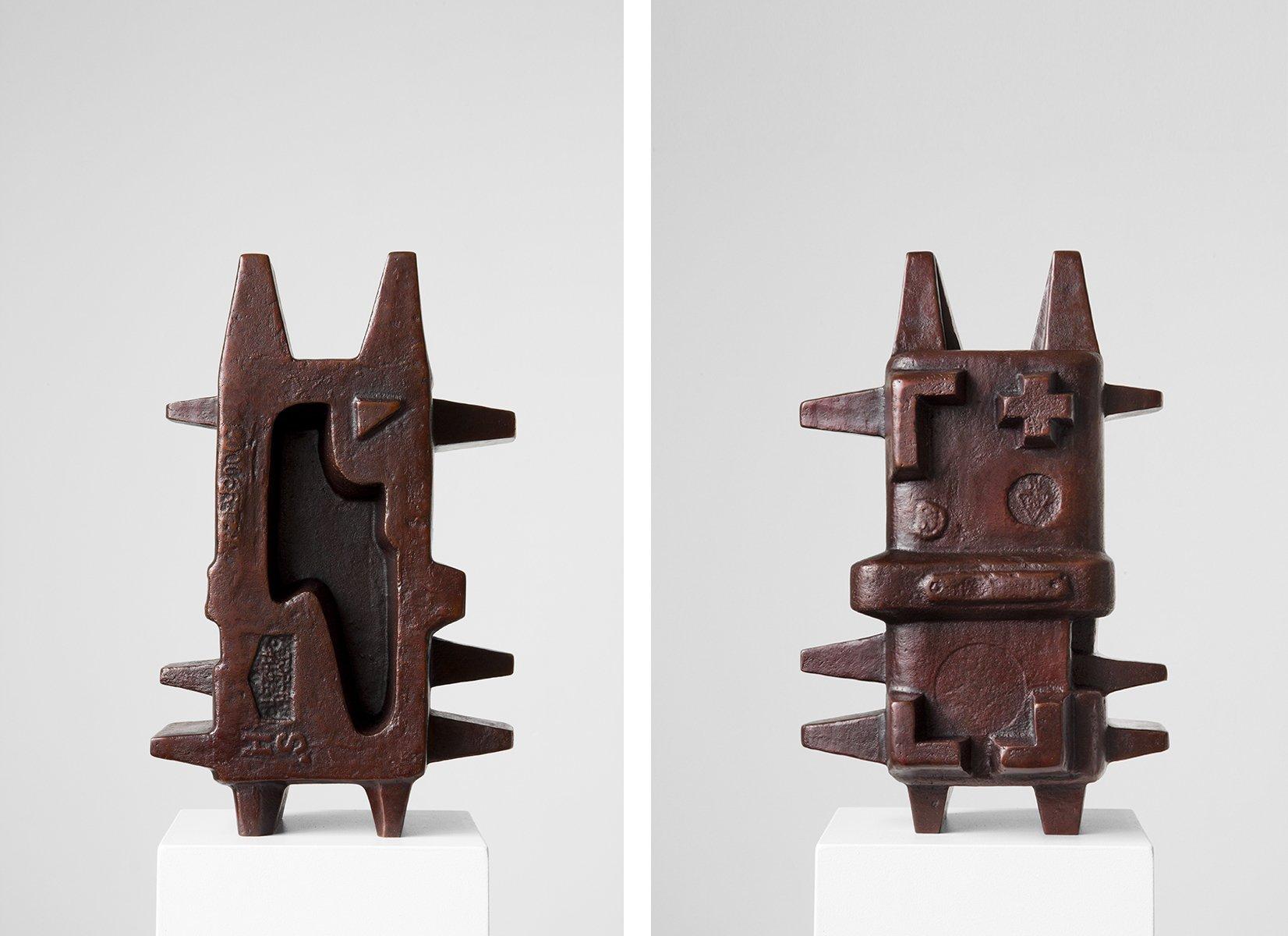 An Te Liu Eidolon VII-IV, 2016 Bronze13 x 8 x 5.5  Unique work in a series of 5